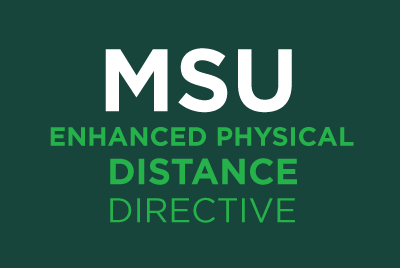 MSU Enhanced-Physical-Distance Directive