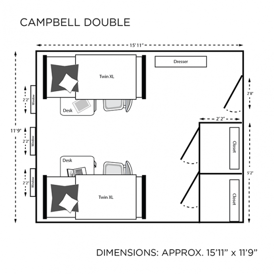 campbell floor plan