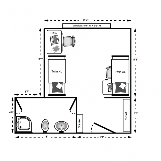Case Floor Plan